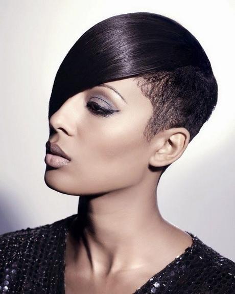Short Hair Styles For Black Women Over 40