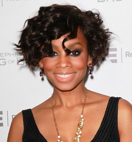 short hair styles for black women over 50