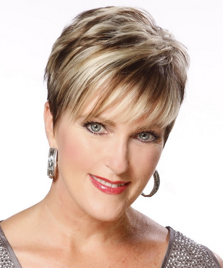 Short Hairstyles for Older Women Grey Hair