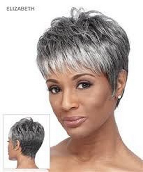 Short Hairstyles Gray Hair | Short Pixie Haircuts