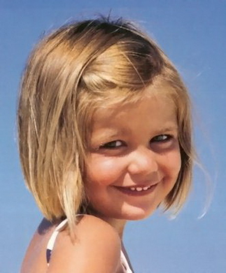 Short hair styles for kids girls