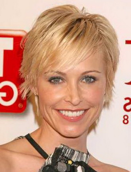 Short Hair Styles For Middle Aged Women