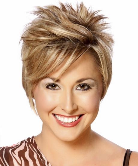 Short hair styles for thinning hair