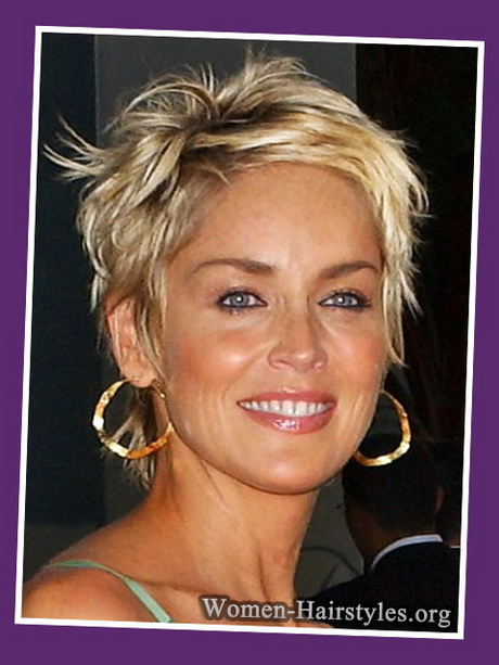 ... article about quot;Short Shaggy Hairstyles for Women Over 50 with