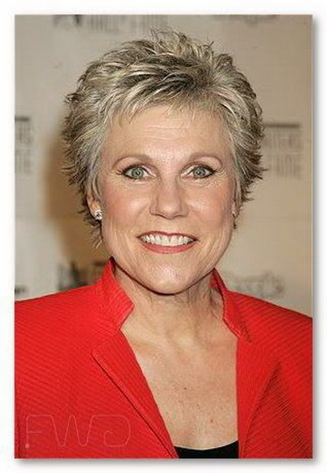 Silver Pixie Short Hairstyles for Women Over 60