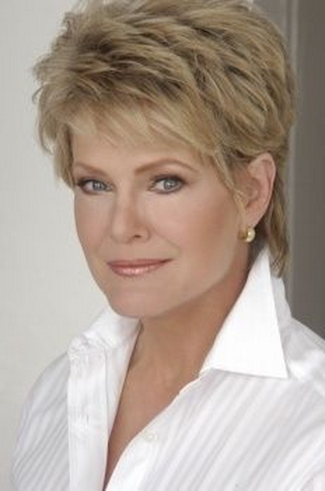... full article about quot;Short Shag Haircut For Women Over 50 With
