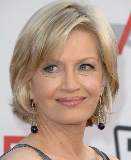 hairstyles for women with thinning hair on top : Short haircut styles for women over 60