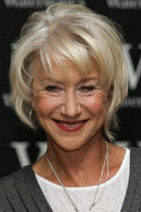 short hairstyles with color and highlights : Short haircut styles for women over 60