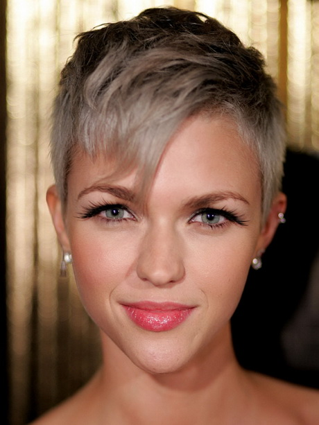 ruby rose women celebrity short hairstyles 2013 15 Best Women