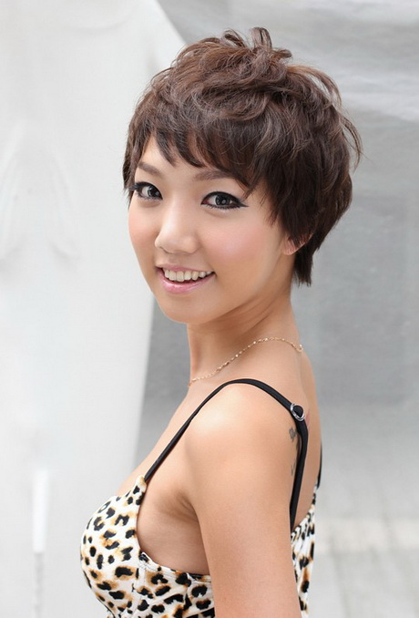 Short haircuts for asian women