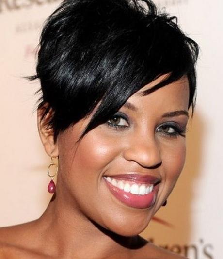 short haircuts for black women 2014