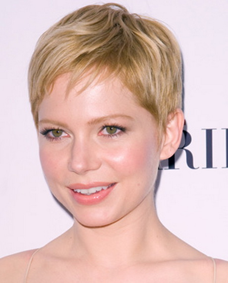 Short haircuts for fat faces