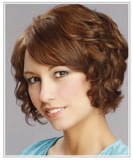 Short haircuts for fine curly hair