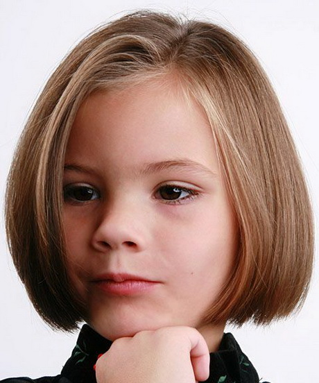 Short haircuts for kids girls