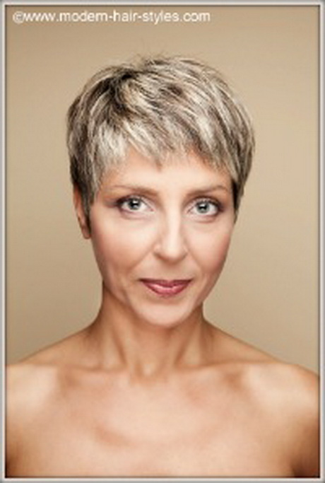 More short hairstyles for older women with fine hair short haircuts