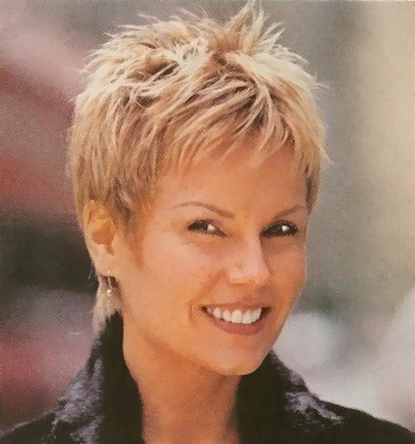 short haircuts for older women with fine hair