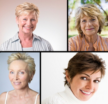 short haircuts for over 60