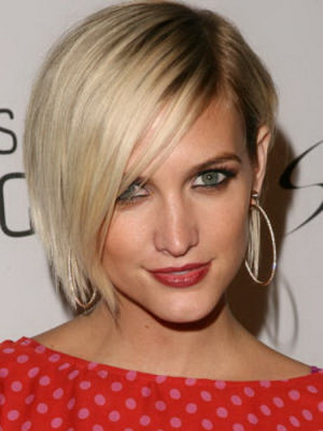 short hairstyles for thick hair short celebrity hairstyles