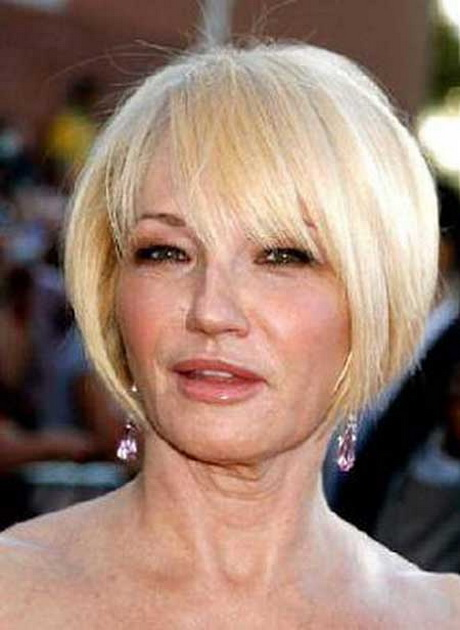 Haircuts For Thick Straight Hair Over 50 : Pics photos short haircuts for women over with thick hair