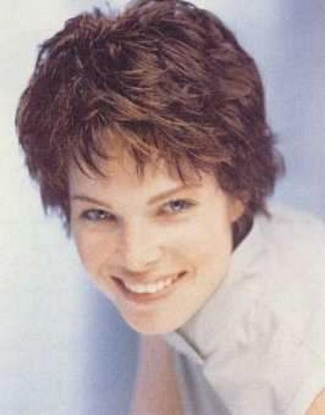 Women Over 50 Short Haircuts | Home » Short » Classic Short Wavy ...