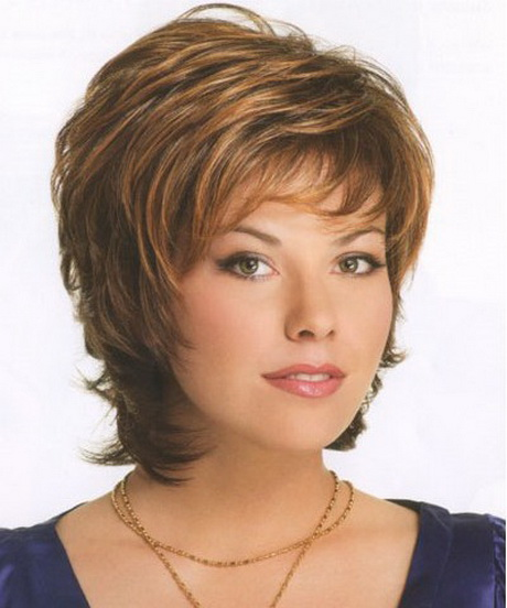 ... ;Beautiful Short Hairstyles for Women Over 60 with Round Facesquot