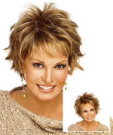 haircuts for women over 60 with fine hair short shaggy