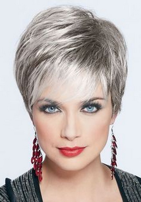 Short Hairstyles for Women Over 60 Grey Hair