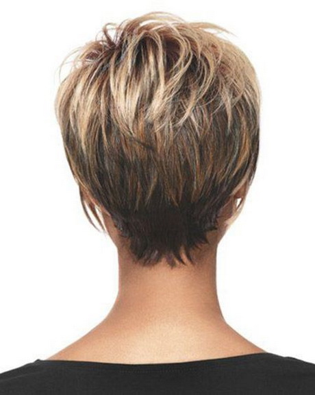 Back View of Short Haircuts | 2013 Short Haircut for Women. Found on ...