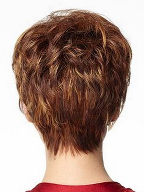 Haircut Short Hairstyles Back View