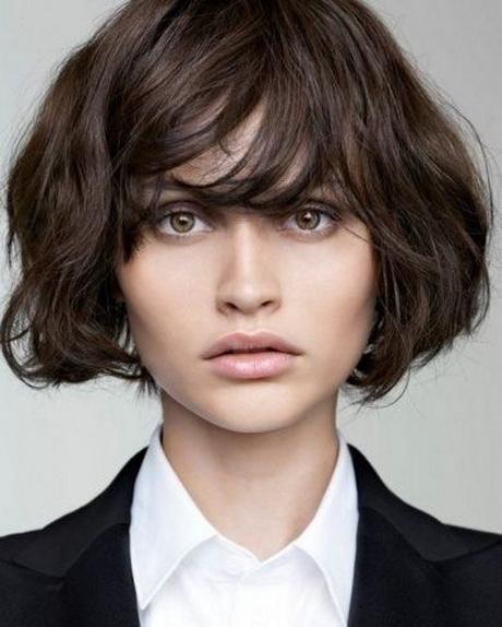 Short Haircuts Wavy Hair