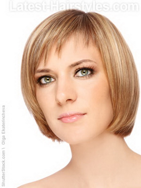 Short Haircuts With Fringe