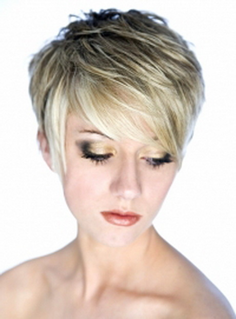 ... short hairstyles – short haircuts. Soft and wispy bangs will give a
