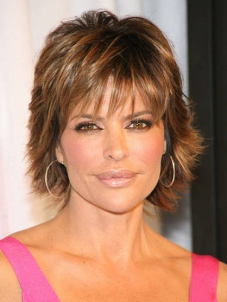 Shag Hairstyles On Pinterest Shaggy Haircuts Lisa Rinna ...
