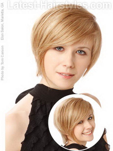 Cute Short Dos For Round Faces Haircuts