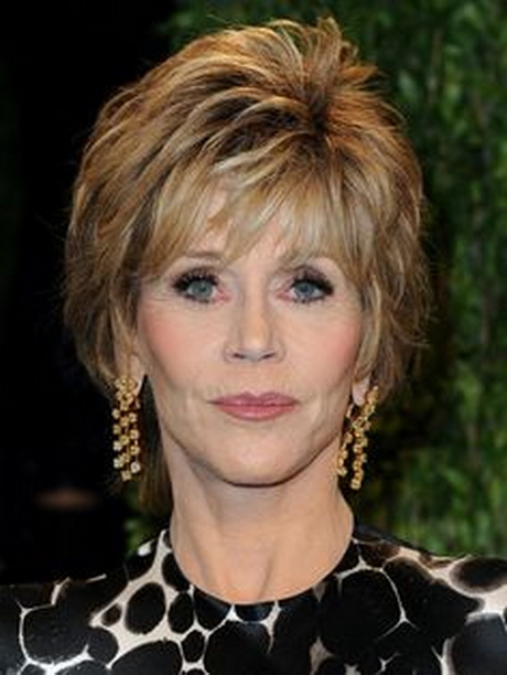 Short Hair Styles for Middle-Aged Women