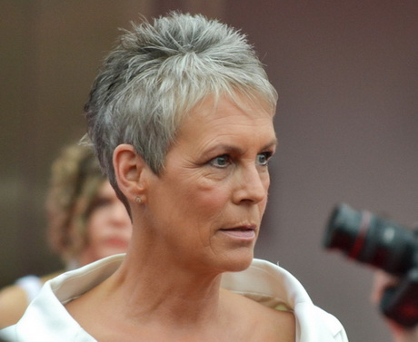 Short Hairstyles for Older Women with Gray Hair. Fantastic Best Short ...