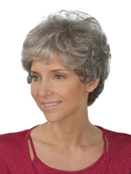 Short Hairstyles for Older Women with Grey Hair 431×600 Best Short ...