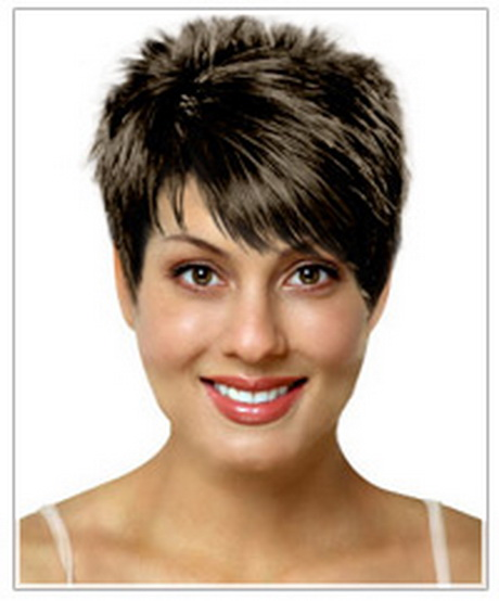 Hairstyles For Short Hair Oval Face : Oval face shape short hairstyle This hairstyle has some height on top ...