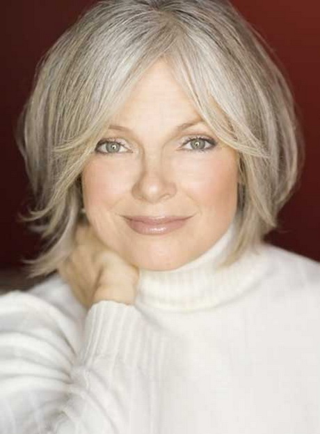 Short hairstyles for senior women