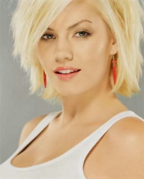 Short Hairstyles Thick Hair Round Face Short Hairstyles