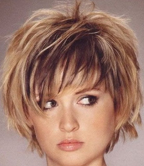 Short Hairstyles For Round Faces And Thin Curly Hair – Hairstyles ...