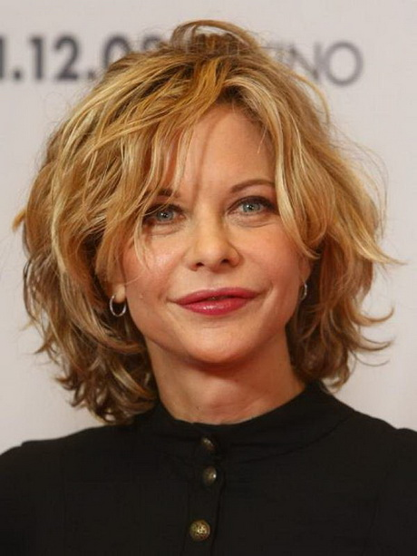 Short hairstyles for women in their 50 s