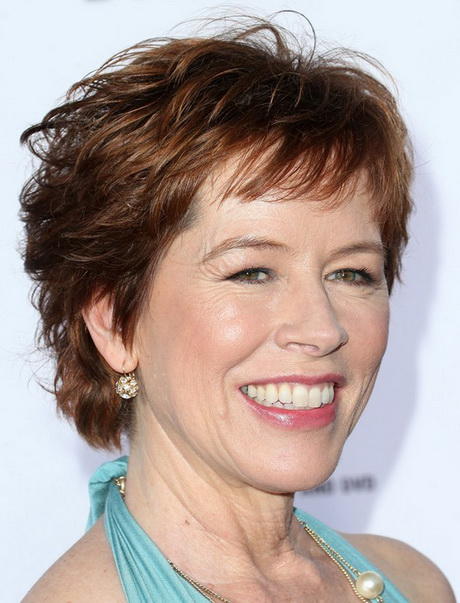 ... Images Short Layered Hairstyle for Women Over 50 /Getty Images