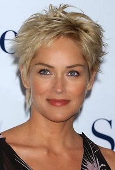 Hairstyles For Short Hair Over Fifty : short shaggy hairstyles for women over 50 with fine hair short article ...