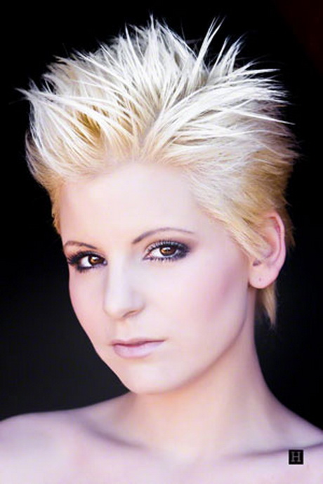 Hairstyles For Short Hair Names : spiky hairstyles names women hairstyles