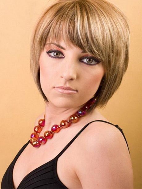 short hairstyles with bangs 2014