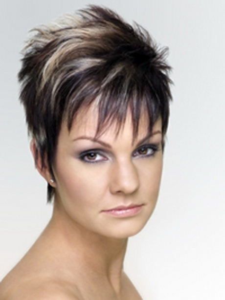 Short Hairstyles Women Over Pixie Haircut Getty