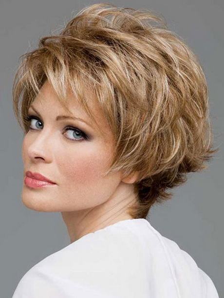 Short layered haircuts with bangs 2014