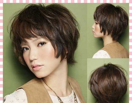 short layered hairstyle Cute hairstyles for short hair