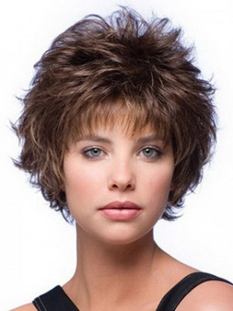 Curly Mixed Layered Short Capless Wig Short Hair Styles For Women …